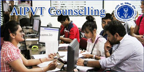 AIPVT 2017 Counselling Dates, Process   VCI All India Pre Veterinary Test Allotment