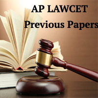 AP LAWCET Previous Year Question Papers with Solutions   Preparation Books