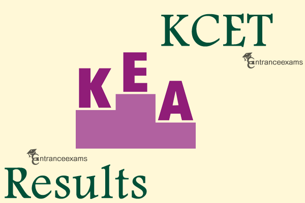 KCET 2020 Results | KEA Karnataka CET Result 2020, Score Card, Cut off & Merit List