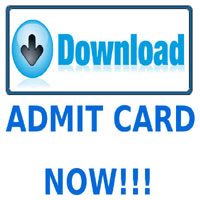 Admit Card for All India Engineering, Medical & Other Entrance Exams