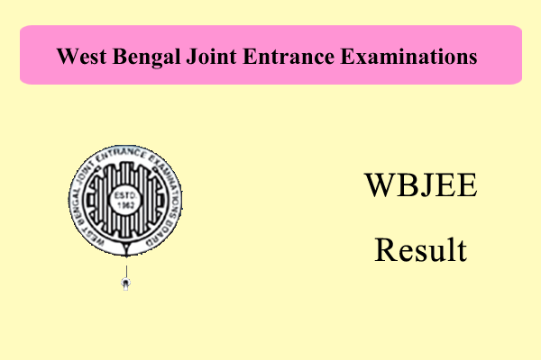 WBJEE Result 2017   West Bengal JEE 2017 Results (Engineering & Medical)