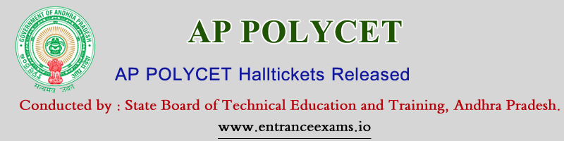 AP Polycet Hall Ticket 2020 download   AP Polycet 2020 Hall Tickets   sbtet.ap.gov.in CEEP Hall Ticket