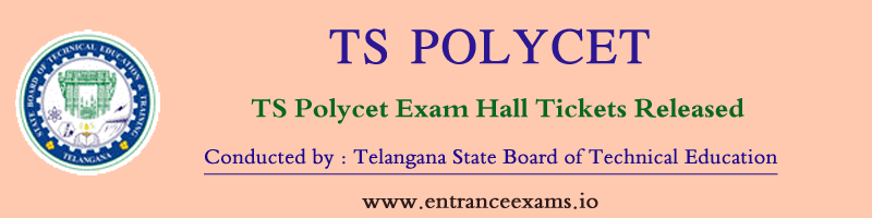 TS POLYCET Hall Ticket 2021 | Exam Dates | How To Download