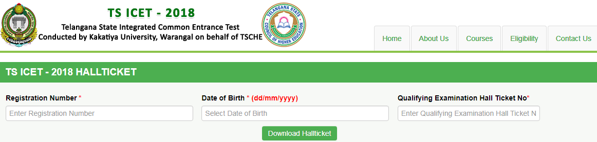 TSICET 2020 Admit Card Download   TS ICET Hall Ticket Date, Preparation Tips