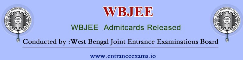 WBJEE Admit Card 2017, Exam Date   Download Steps