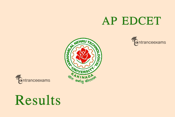 AP EDCET Results 2020  AP B.Ed Entrance Exam Results 2020 @ www.sche.ap.gov.in
