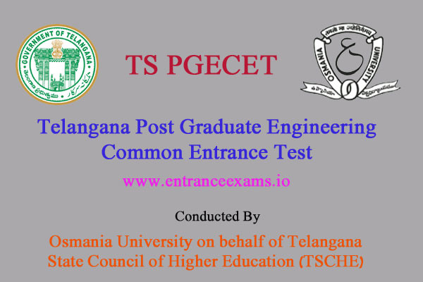 TS PGECET 2017 Notification, Online Application, Exam Dates, Pattern, Results & Counselling