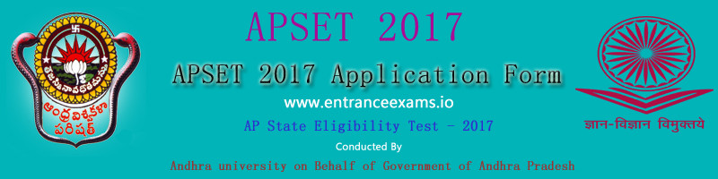 APSET 2017 18: Notification, Exam Date, Syllabus, Admit Card, Results, Fee