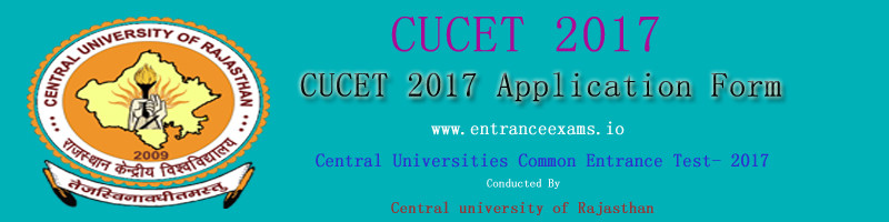CUCET 2017: Notification, Online Application, Exam Date, Admit Card, Results