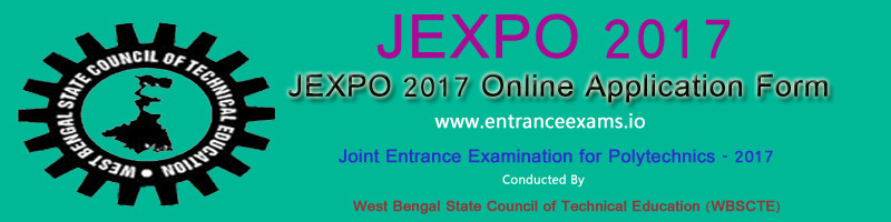 JEXPO (WB Polytechnic) 2018: Online Application, Admit Card, Exam dates, Results, Counselling