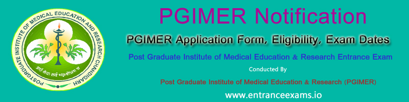 PGIMER 2018   Exam Date, Syllabus, Pattern, Previous Papers, Result, Web Options