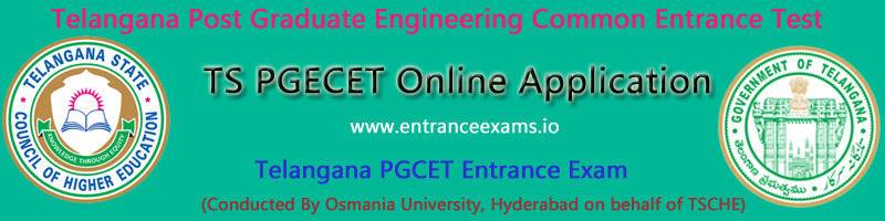 TS PGECET 2017 Online Application Form, Dates, Eligibility   Apply Online
