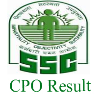 Check SSC CPO SI & ASI Paper 1 Result 2017 for CAPF, Delhi Police & CISF @ www.ssc.nic.in