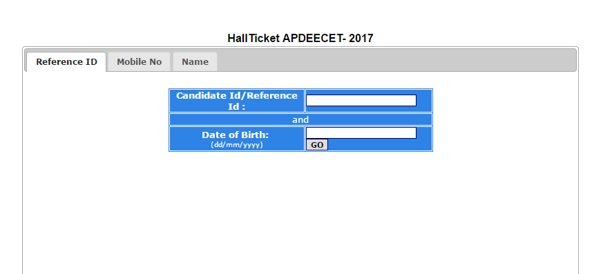 Download AP DEECET/ DIETCET Hall Ticket 2017 | Get TTC Entrance Exam Date
