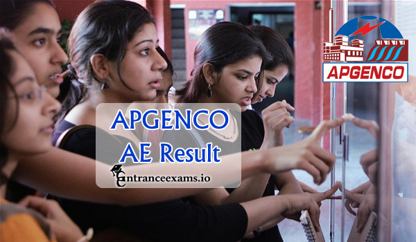 APGENCO Assistant Engineer (AE) Results 2017   AP GENCO AE Result, Merit List @ www.apgenco.gov.in