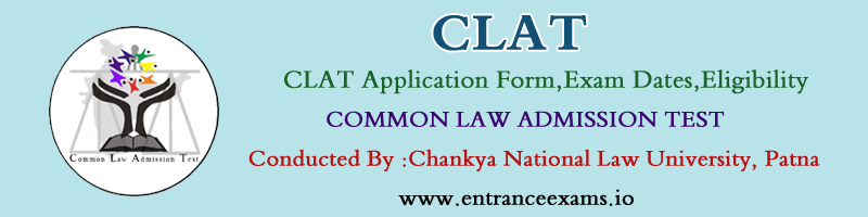 CLAT 2017: Notification, Application Form, Syllabus, Exam Pattern, Model Papers, Dates, Result, Counselling