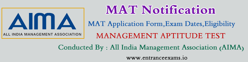 MAT (May) 2020: Registration, Exam Dates, Syllabus, Sample Papers, Admit Card, Answer Key, Results, Rank Card, Web Counselling
