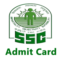 SSC Admit Card 2017 CGL CHSL GD Constable Stenographer JHT SI ASI | SSC Hall ticket Download @ssc.nic.in