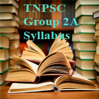 TNPSC group 2a Syllabus 2018 Pdf (Eng & Tamil) - CCSE II Exam Pattern