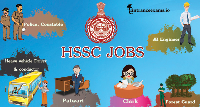 HSSC Recruitment 2017   Haryana 6313 Patwari, Craft Instructor, Jr Engineer, Fireman Jobs