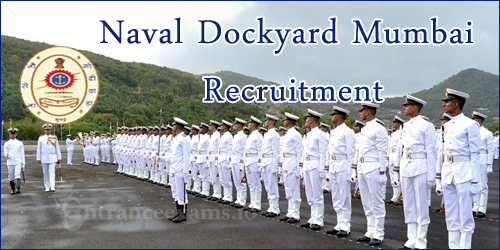 Naval Dockyard Mumbai Recruitment 2017 | Apply Online for 495 NDY Apprentice & Civilian Personnel Posts