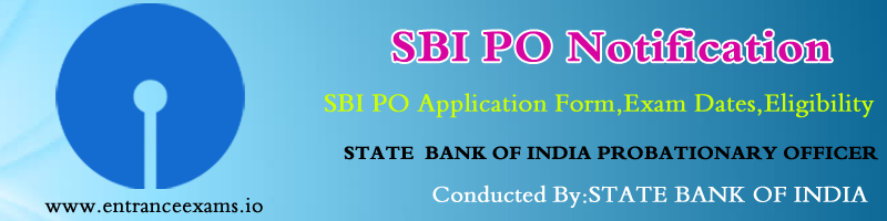 SBI PO Recruitment 2017 | Upcoming SBI Jobs 2313 Probationary Officers Vacancies @sbi.co.in