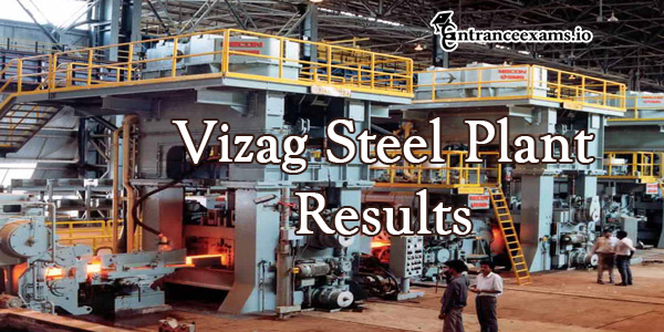 Vizag Steel Plant MT Result 2017   RINL VSP Management Trainee Cut Off, Merit List