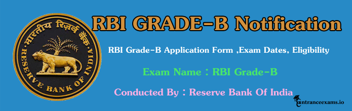 RBI Grade B Notification 2017  Reserve Bank of India Grade B Officer Recruitment  Apply Online @ rbi.org.in