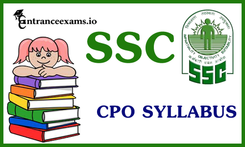 SSC CPO SI ASI Syllabus 2021 pdf download Exam Pattern @ ssc.nic.in
