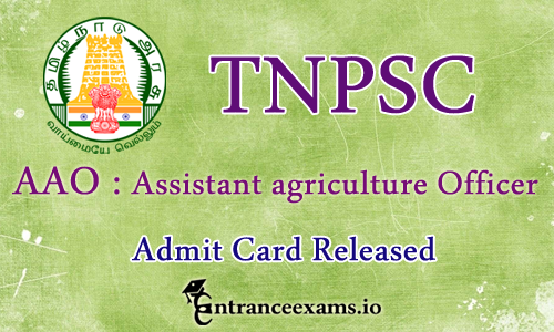 TNPSC AAO Admit Card 2017 Download @ tnpsc.gov.in