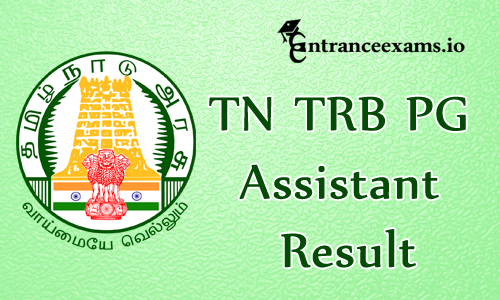 Tamil Nadu TRB Result 2017   TN TRB PG Assistant Results 2017, Cutoff Marks @ trb.tn.gov.in