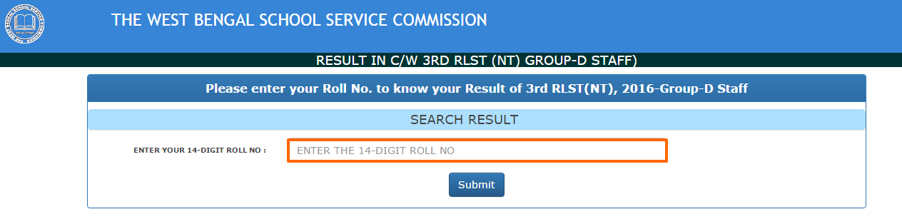 West Bengal Group D Result 2017 WBSSC Result for Gr II Clerk/LDC Posts @ westbengalssc.com