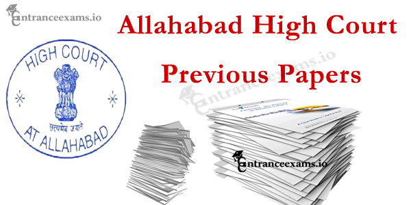 Allahabad High Court Previous Papers Pdf   AHC Class III/ Class IV Model Papers