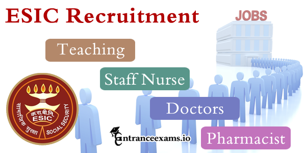 esic.nic.in Online Application for ESIC Recruitment 2017   ESIC Hospital Jr Resident Professor Vacancy
