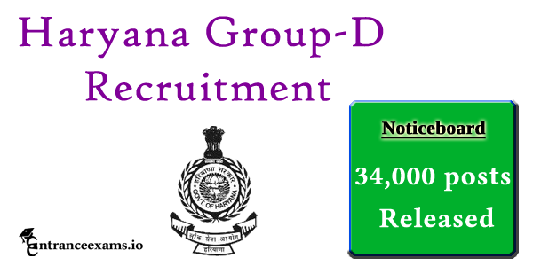 Haryana Group D Recruitment 2017   Apply Online for 34000 HPSC Jobs   www.hpsc.gov.in