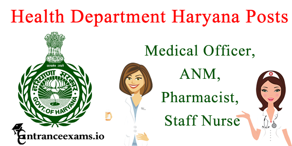 Haryana Health Department Recruitment 2017   933 Medical Officer posts