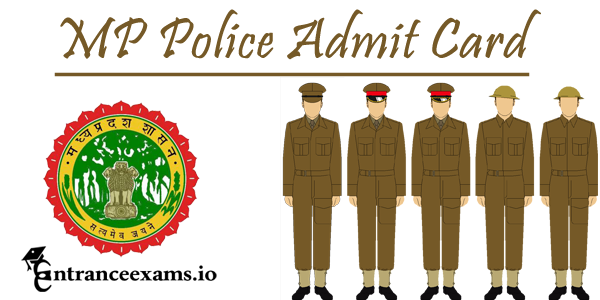 MP Police Constable Admit Card 2017 Released   MP Police Hall Ticket 2017 Download