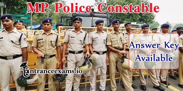 MP Police Answer Key 2017   MP Vyapam Police Constable Key