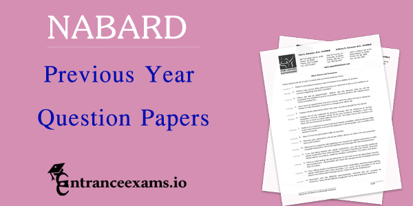 NABARD Development Previous Year Question Papers Download   Nabard Assistant Exam Question Paper