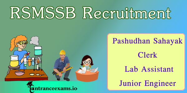RSMSSB Recruitment 2017   4000 Live Stock Assistant (LSA) Jobs