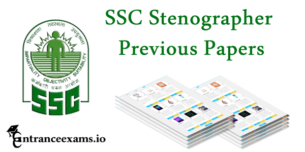 SSC Stenographer Previous Question Papers with Solutions   ssc.nic.in Grade C & D Sample Papers
