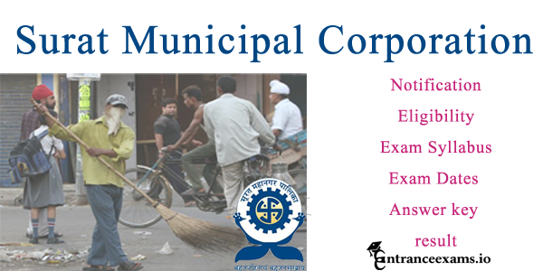 Surat Municipal Corporation Recruitment 2017   2144 Beldar & Sweeper posts