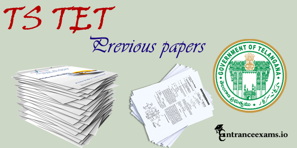 Telangana TS TET Previous Question Papers Download Pdf | TSTET Study Material