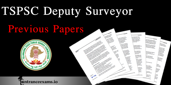 Free Download TSPSC Deputy Surveyor Previous Year Question Papers Pdf | TS PSC Model Papers