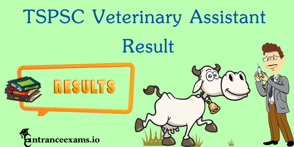 TS Animal Husbandry Result 2021   Telangana Veterinary Assistant Merit list