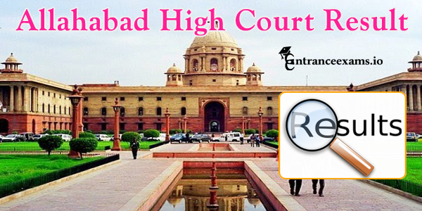 Allahabad High Court Class III & Class IV Result 2017   AHC Exam Result