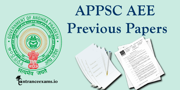 APPSC AEE Previous Year Question Papers Pdf (2010 16) Download @ psc.ap.gov.in