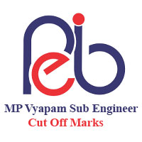 MP Vyapam SE Cut Off Marks 2017   MPPEB Sub engineer Expected Cut off