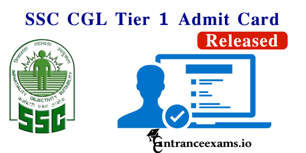 SSC CGL Admit Card 2017 Tier 1 Exam Download @ ssc.nic.in