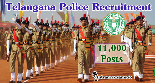 Telangana Police Recruitment 2017   18,290 TSLPRB Police Constable Jobs